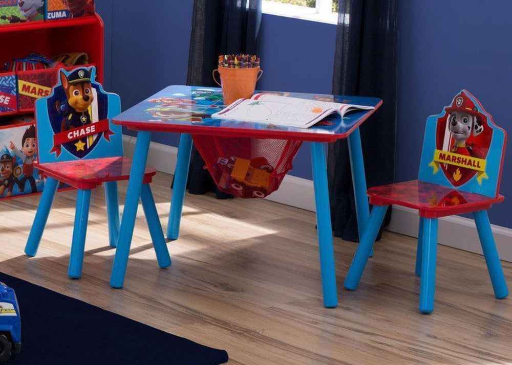 Miraculous Paw Patrol Table Chair Set With Storage Delta Children Creativecarmelina Interior Chair Design Creativecarmelinacom