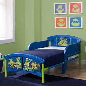 Teenage Mutant Ninja Turtles Plastic Toddler Bed