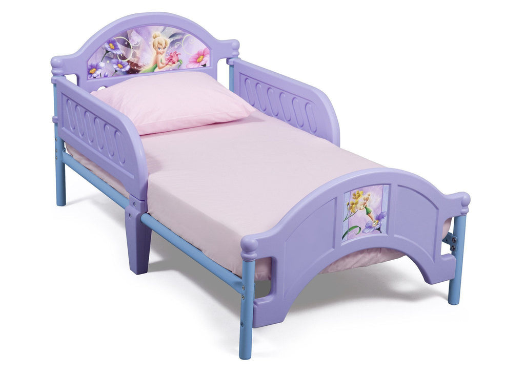 Delta Children Style 1 Fairies Toddler Bed Right View a1a  sc 1 st  Delta Children & Fairies Plastic Toddler Bed | Delta Children