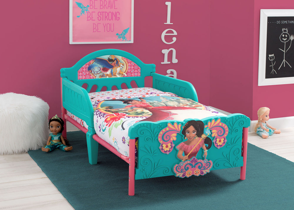 Elena of Avalor 3D Toddler Bed