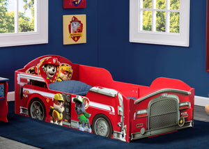 Delta Children PAW Patrol Wood Toddler Bed, Room View a0a