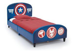 Delta Children Avengers Upholstered Twin Bed Avengers (1160), Right Silo