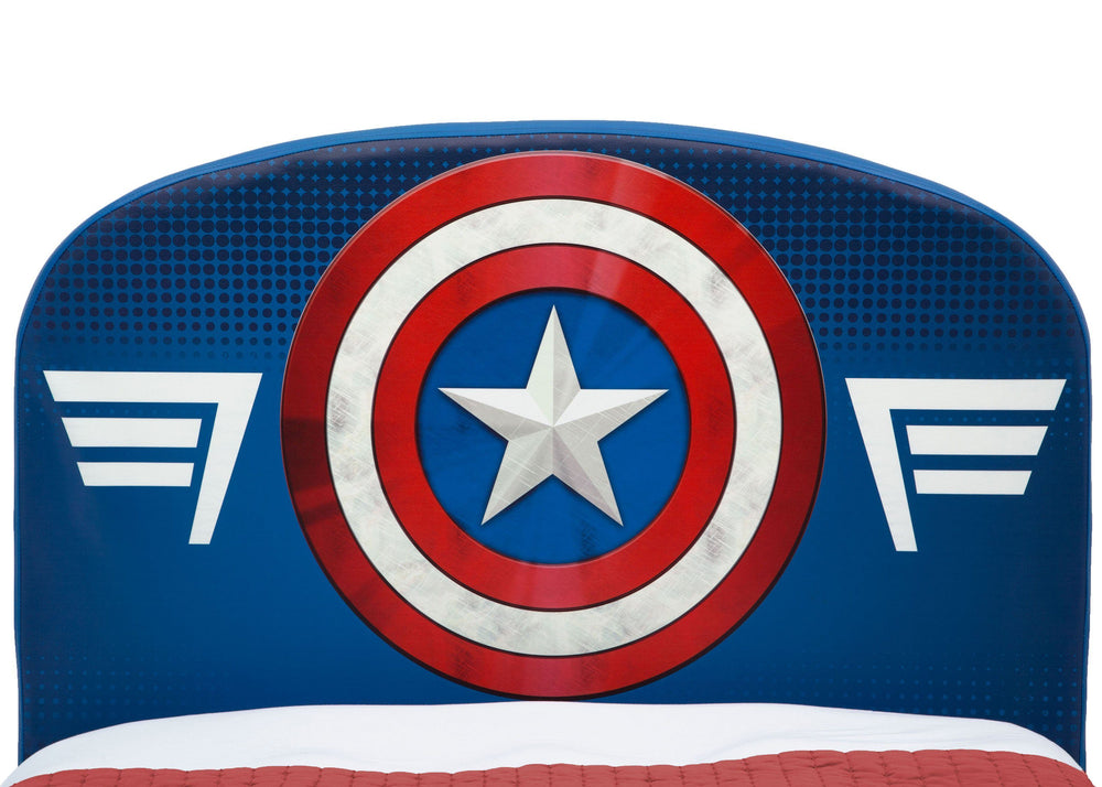 Tremendous Marvel Avengers Upholstered Twin Bed Delta Children Pabps2019 Chair Design Images Pabps2019Com