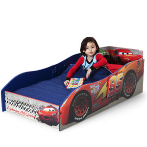 Cars Wood Toddler Bed