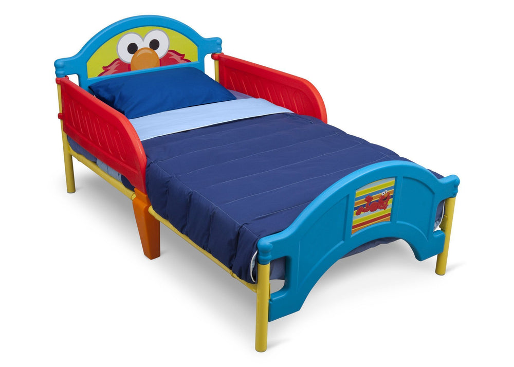 Delta Children Sesame Street Toddler Bed Right Side View a2a