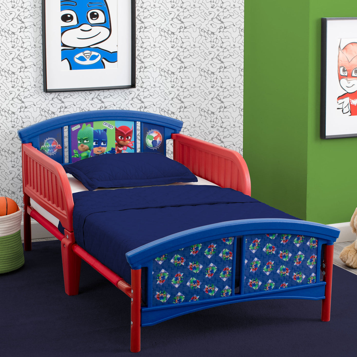 PJ Masks Plastic Toddler Bed