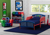 Delta Children PJ Masks Plastic Toddler Bed (BB87130PJ-1170), Room View, a0a