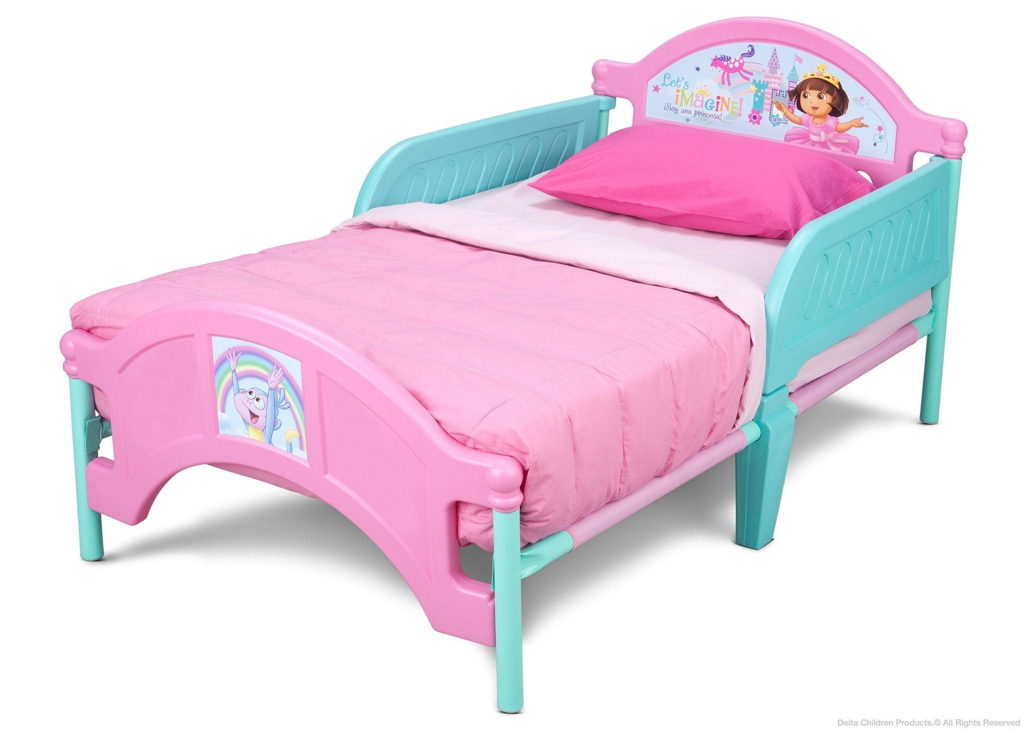 Delta Children S Products Disney Frozen Plastic Toddler Bed Instructions