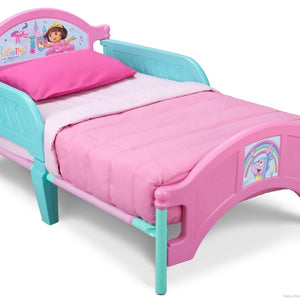 Delta Children Dora Toddler Bed Right Side View a1a