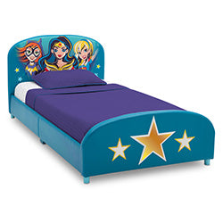 DC Super Hero Girls Twin Bed