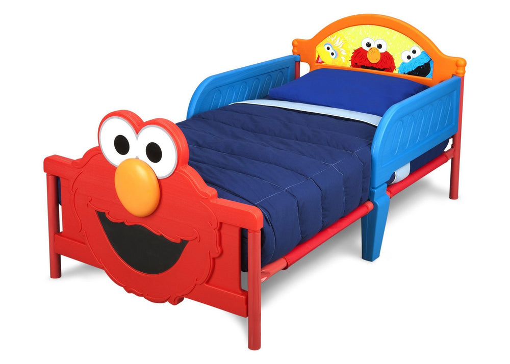 elmo 3d toddler bed delta children 11507 | bb87149ss sesame elmo toddler bed left hi res 3057e5f8 f0b4 4711 81d2 56f9cd2f9d98 1000x v 1524667419