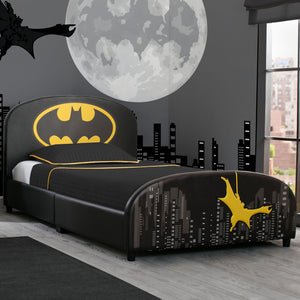 Batman Upholstered Twin Bed