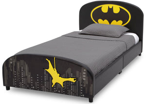 Delta Children Batman Upholstered Twin Bed Batman (1200), Left View