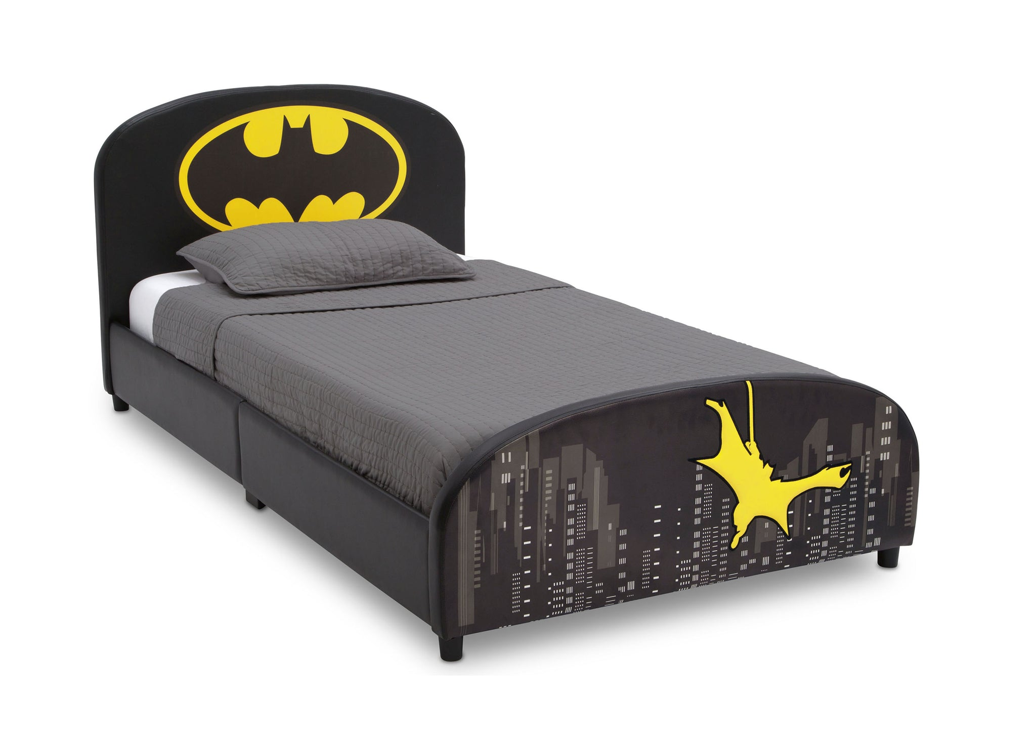 Delta Children Batman  Upholstered Twin Bed Batman (1200), Right View