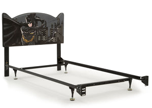 Delta Children Batman (1200) Upholstered Headboard (BB87152BT), Metal Frame a4a