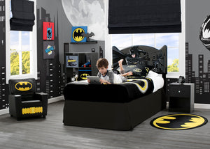 Delta Children Batman (1200) Upholstered Headboard (BB87152BT), Room View a0a