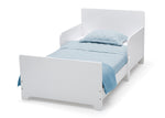 Delta Children Bianca White (130) MySize Toddler Bed, Right Silo View