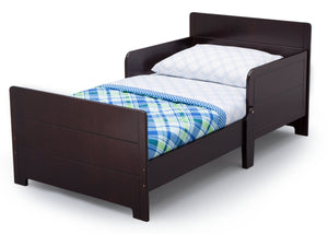 Delta Children Dark Chocolate (207) MySize Toddler Bed, Left Silo View