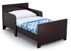 Delta Children Dark Chocolate (207) MySize Toddler Bed, Right Silo View