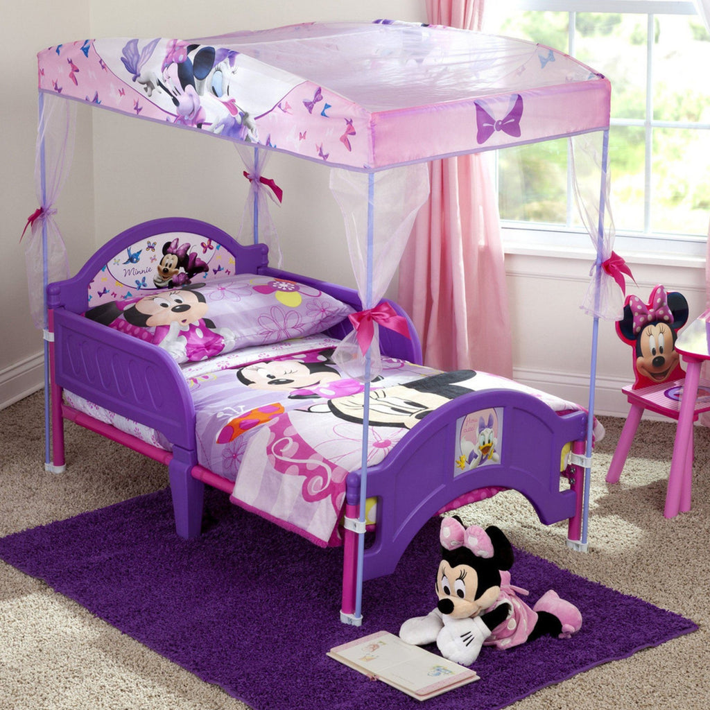 Minnie Mouse Toddler Canopy Bed
