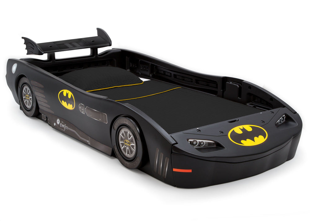 Delta Children DC Comics Batmobile (Batman) Twin Bed, Right Angle, a2a