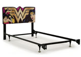 Delta Children Wonder Woman (1210) Upholstered Headboard (BB87173WW), Metal Frame a4a