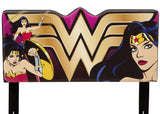 Delta Children Wonder Woman (1210) Upholstered Headboard (BB87173WW), Front View a1a