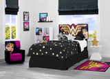 Delta Children Wonder Woman (1210) Upholstered Headboard (BB87173WW), Room View a0a