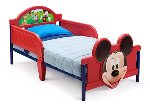 Mickey Mouse Plastic 3D Toddler Bed