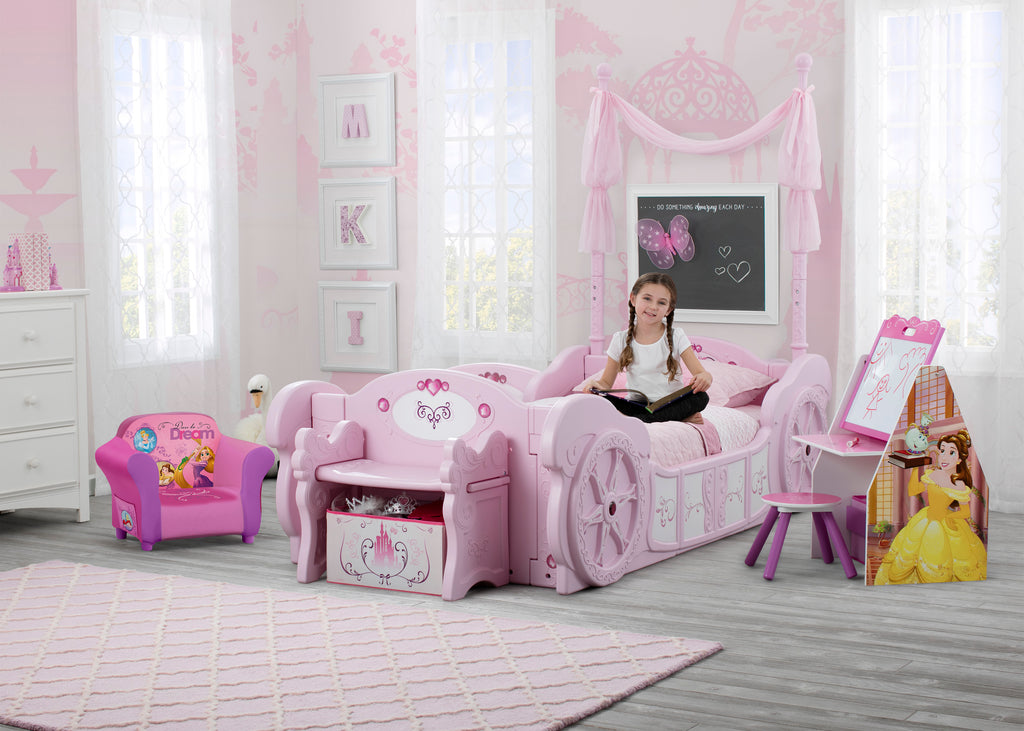 buy online 9ef39 08c31 Princess Carriage Convertible Toddler-to-Twin Bed