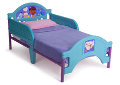Delta Children Doc McStuffins Toddler Bed Right Side View a1a