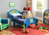 Delta Children Teenage Mutant Ninja Turtles Toddler Bed Left Side View in Setting a1a