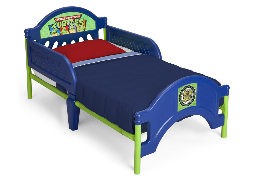 Delta Children Teenage Mutant Ninja Turtles Toddler Bed Right Side View a2a