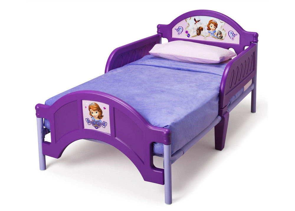 newest 1f2b6 339ef Sofia the First Plastic Toddler Bed