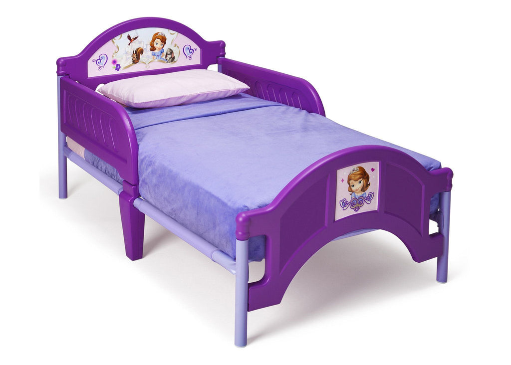 Sofia the First Plastic Toddler Bed | Delta Children