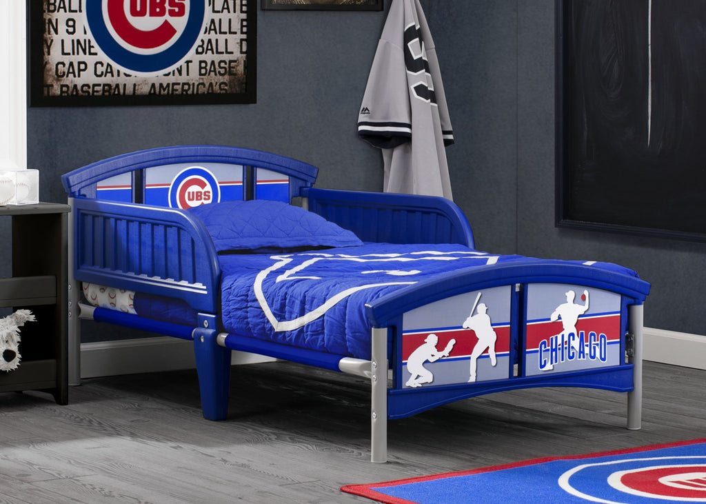 Chicago Cubs Plastic Toddler Bed