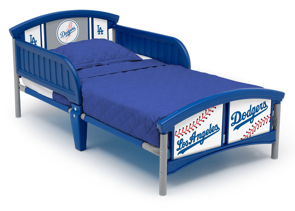 Delta Children Los Angeles Dodgers Plastic Toddler Bed (BB9802LAD-1231), a1a