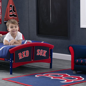 Boston Red Sox Soft Area Rug with Non-Slip Backing (4 x 2'6)