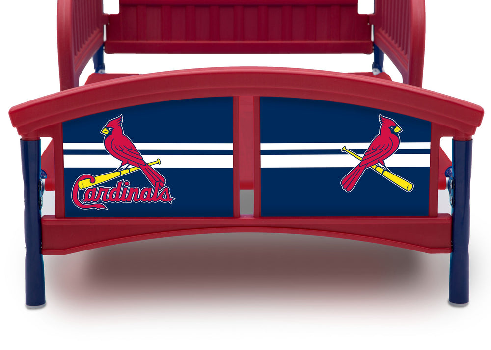 St  Louis Cardinals Plastic Toddler Bed – Delta Children