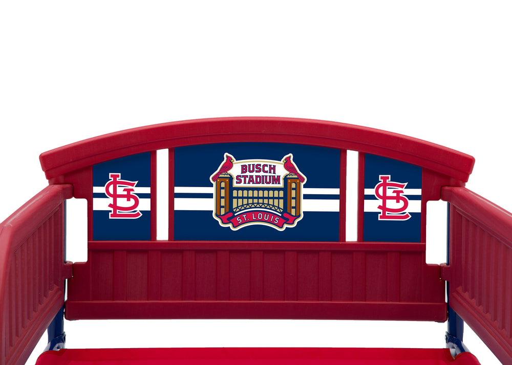 St. Louis Cardinals Plastic Toddler Bed