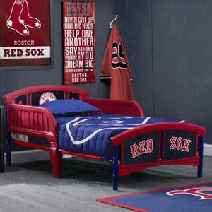 Boston Red Sox Plastic Toddler Bed
