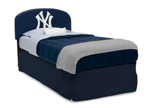 Delta Children New York Yankees (1230) Upholstered Twin Headboard, Right Silo View