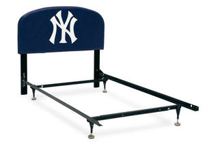 Delta Children New York Yankees (1230) Upholstered Twin Headboard, Alt Right Silo View