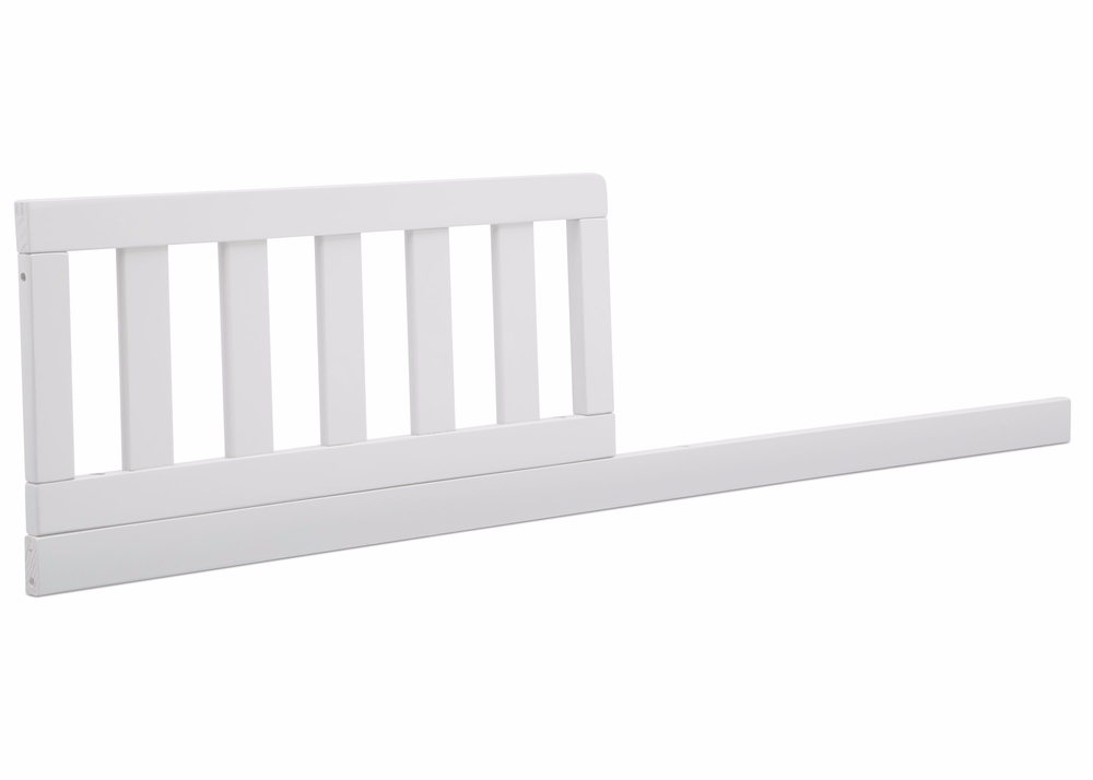 Delta Children Bianca (130) Daybed Rail & Toddler Guardrail Kit, Angled View c1c