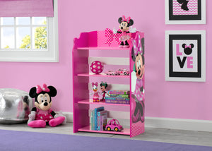 Delta Children Minnie Mouse Bookshelf Right View a0a