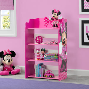 Delta Children Minnie Mouse Bookshelf Right View a0a Minnie Mouse (1063)