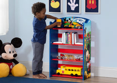 Delta Children Mickey Mouse Bookshelf Room View a1a