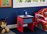 Delta Children PAW Patrol (1121) Side Table with Storage, Room View, a0a