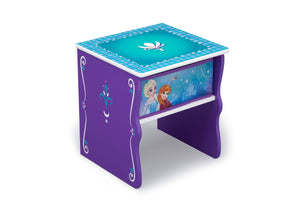 Delta Children Frozen (1092) Side Table with Storage, Right Angle, a1a