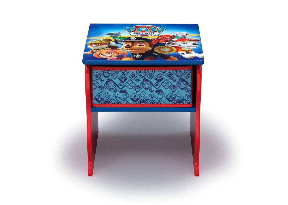 Delta Children PAW Patrol (1121) Side Table with Storage, Front, a3a